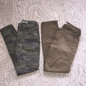 🌴Green size 0 cargo pants🌴